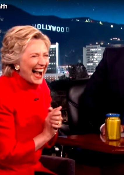 Hillary Clinton's Pickle: Was Jar Opened for Her on Jimmy Kimmel? (video) 14