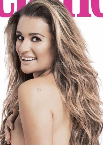 Lea Michele Comfortable in Her Own Skin, And Her Head, Too (Photos!) 3