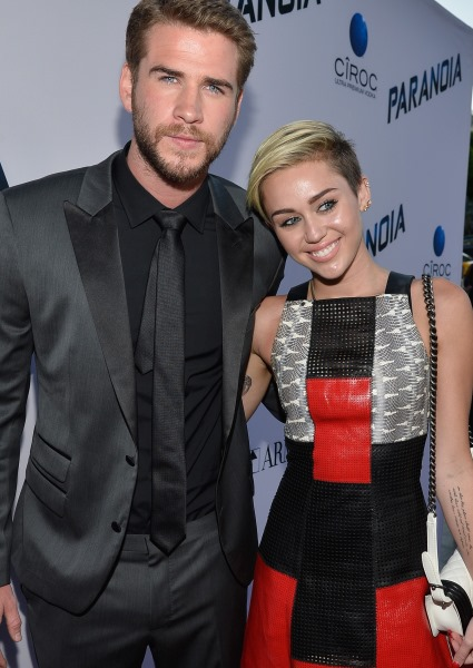 Miley Cyrus Snaps at Liam for Singing Off-Key; Or Was it the Dog? (see!) 44