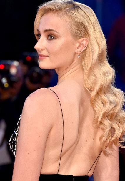 Game of Thrones Sophie Turner Shows Side-Boob Tattoo at Venice Film Fest 10