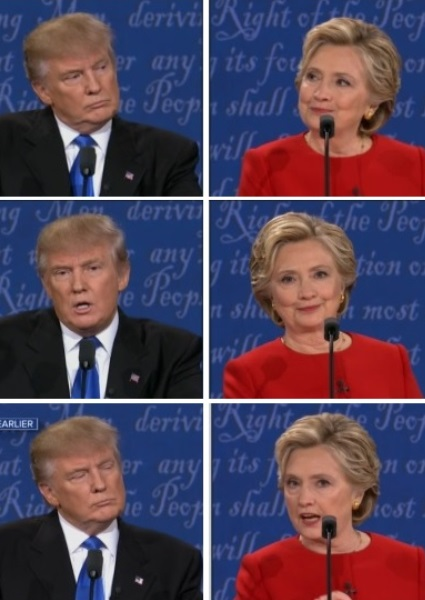 Clinton Buries Health Issue; Trump Like Punch Drunk Fighter in First Debate 34