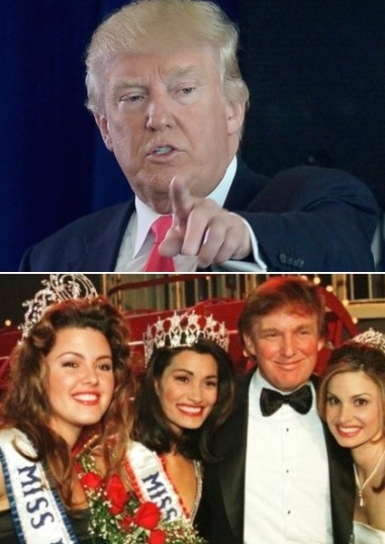 Donald Trump Fiddles With Beauty Queen as Campaign Crashes, Burns 16