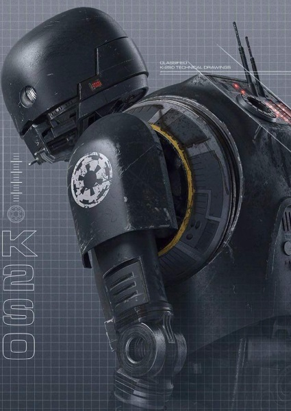Rogue One: A Star Wars Story Video Features New K-2SO Robot  (watch!) 2