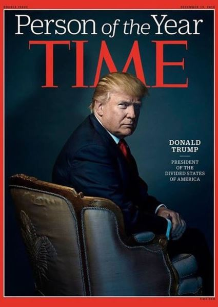 Donald Trump Time Cover Going Viral Faster Than You Can Say Beelzebub! 2