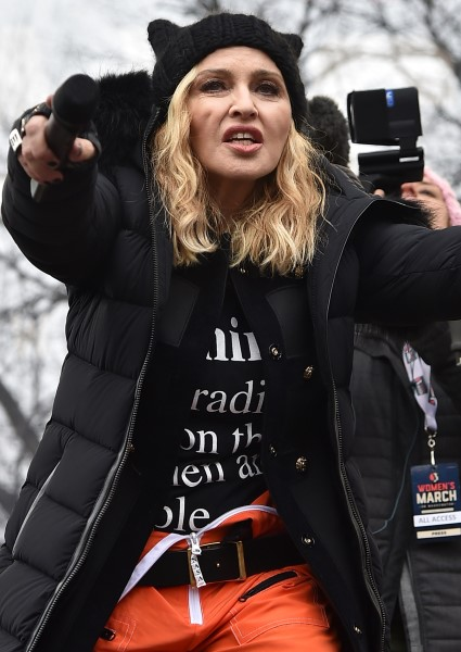 Madonna Confesses Thoughts About Blowing Up the White House (Watch!) 16