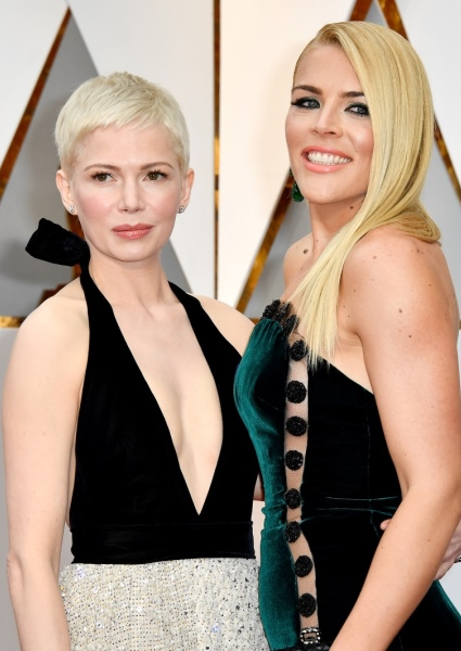 Michelle Williams Out, Proud on Oscars Red Carpet With Busy Phillipps (See!) 5
