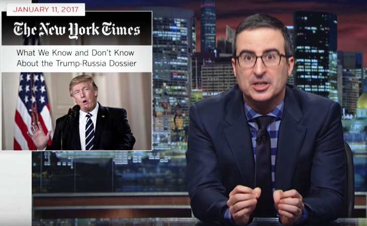John Oliver Hit by Donald Trump Trolls Over Vladimir Putin Satire (See!) 36