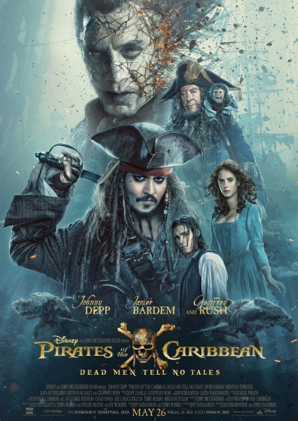 Johnny Depp Gets Sea Legs Back in New Pirates of Caribbean Trailer (See!) 26