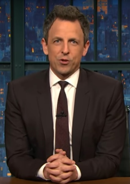 Seth Myers Sets Media's Pants on Fire for Fawning Trump Coverage (see!) 2