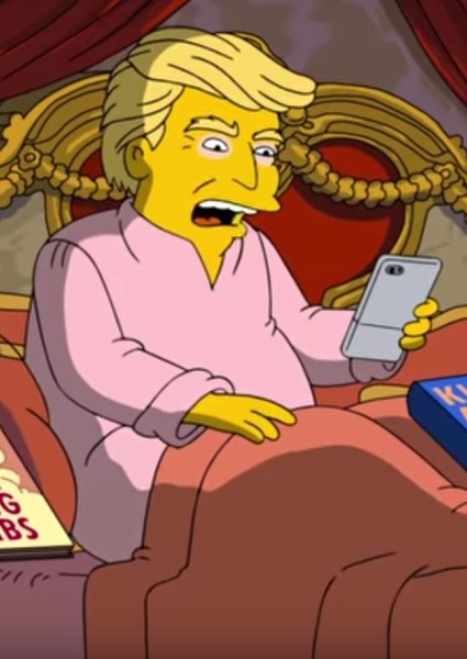 Donald Trump Even Sends Shockwaves Through Simpson Household (see!) 6