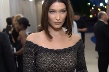 Bella Hadid is stepping out of the shadow of big sis Gigi in fashion. (Photo:
