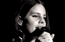 Lana Del Rey provides some insights into her music and mounts a horse in a new interview. (Photo: