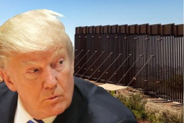 Donald Trump's use of military construction funds for border wall is illegal. (Photo Collage: Getty/U.S. Customs & Border Protection)