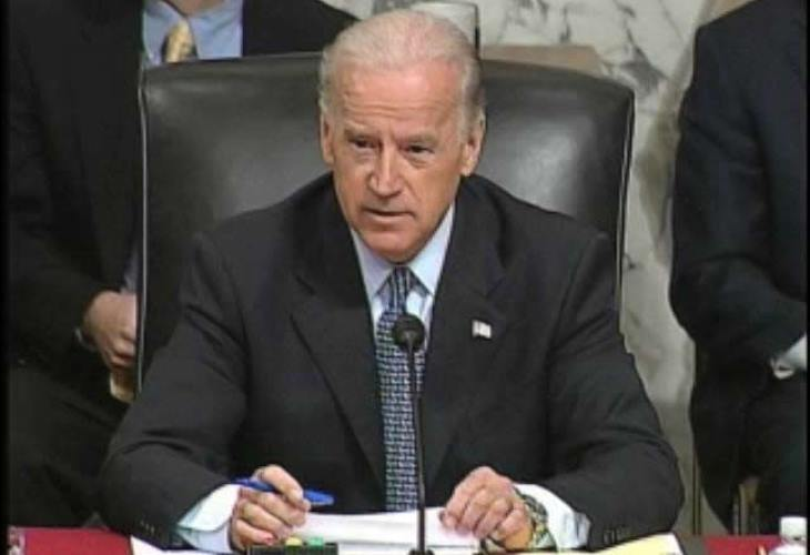 GOP lawmakers  repeatedly smear Trump rival  Joe Biden with unfounded allegations. (Photo: U.S. Senate)