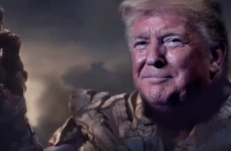 Trump was portrayed on Twitter as Thanos—an intergalactic space warrior who wants to annihilate billions of people. (Photo: ScreenShot)