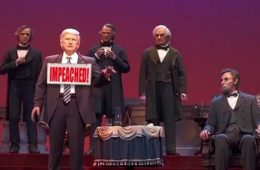 Donald Trump's audio-animatronic figure at Disney World is in the news again. (Photo: Twitter)