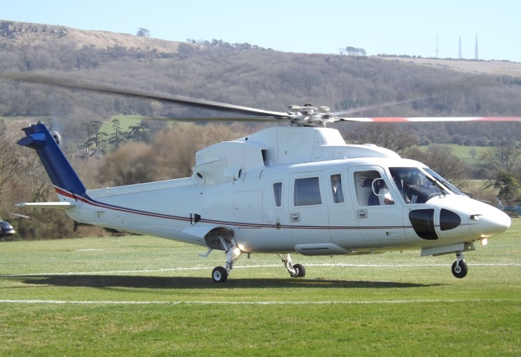 A Sikorsky S76 helicopter similar to this one was involved in the crash that killed NBA great Kobe Bryant. (Photo: Sikorsky)