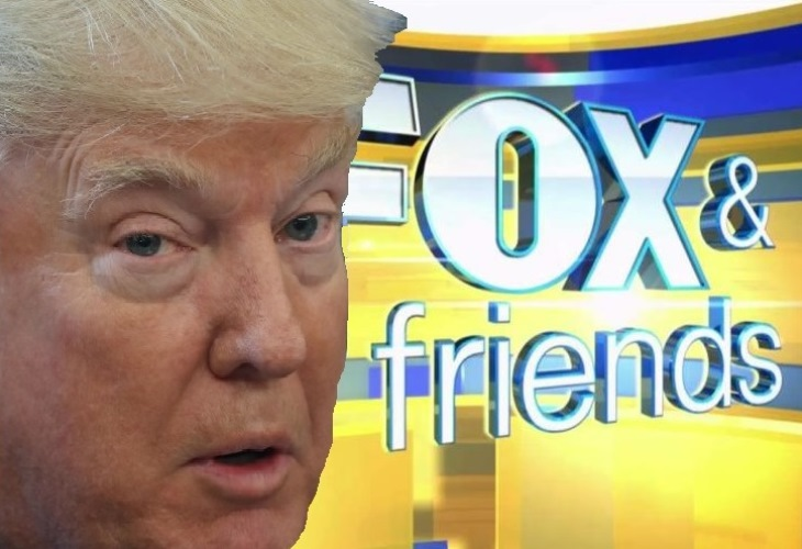 Donald Trump's ineptness handling the coronavirus sends a reality check to Fox News. (Photo: NYI Collage)