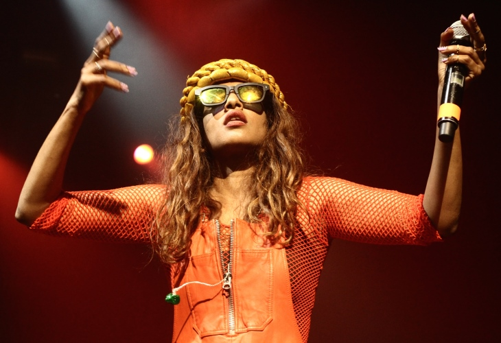 UK Singer M.I.A has been swept up in the debate over vaccines amid the coronavirus pandemic. (Photo: