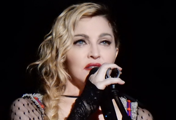 Madonna is one of more than a dozen celebs that have stepped up to help fight coronavirus. (Photo: