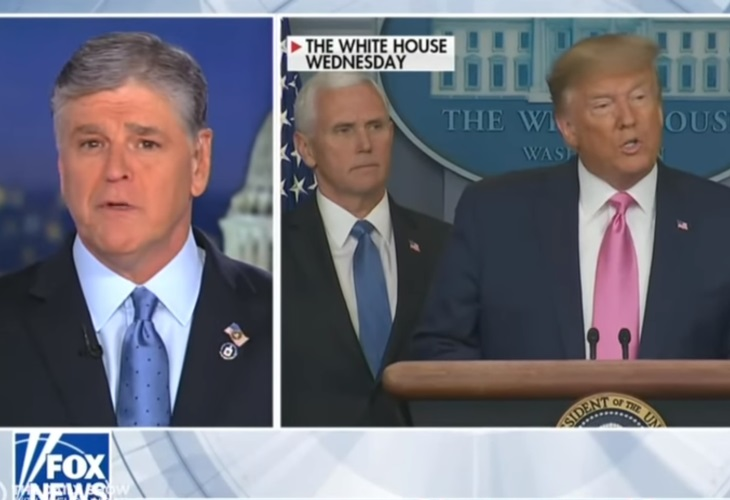 Watch in Horror as Trump and Fox Talking Heads Absurdly Dismiss Covid-19