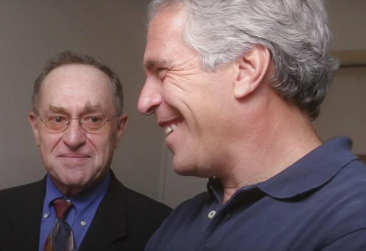 Ex-Harvard Professor Alan Dershowiz is alleged to have participated in sex parties at Jeffrey Epstein's mansion. (Photo: Netflix/ScreenCap)