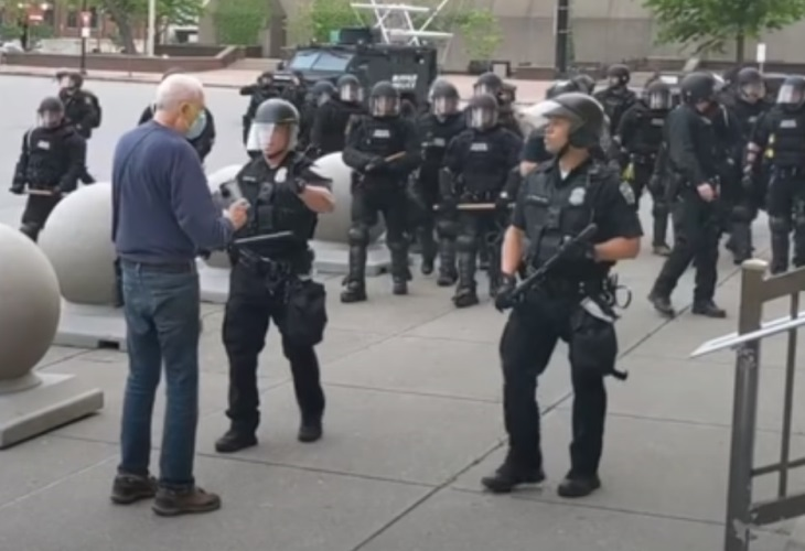 Martin Gugino, Activist Assaulted by Police, Branded 'Agitator' by Buffalo Mayor (Graphic Video)