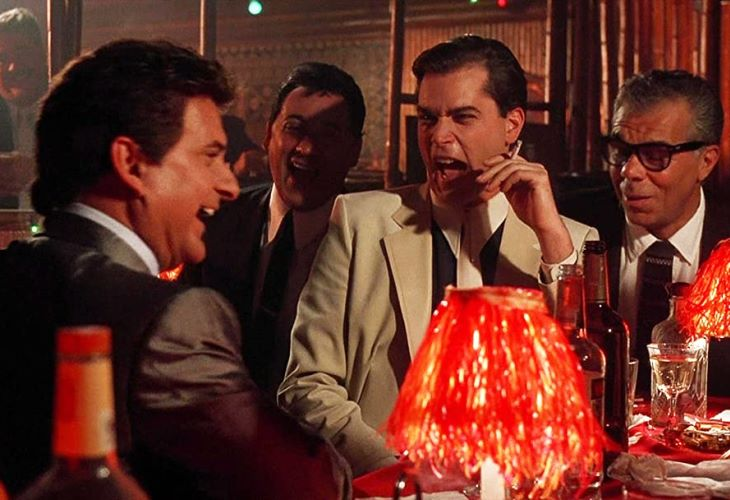 Joe Pesci and Ray Liotta in a scene from 'Goodfellas.' (Photo: ScreenCap)