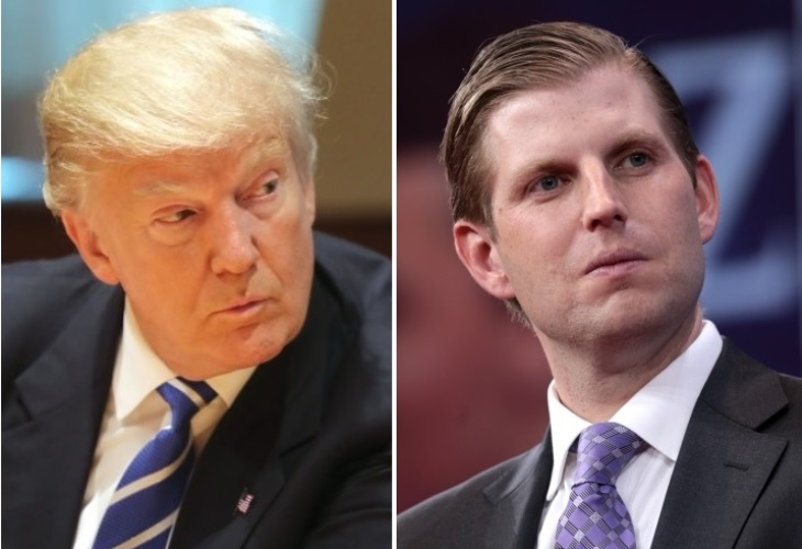 Donald Trump and Eric Trump are facing two New York probes over alleged frauds. (Photo: NYI-collage, Gage Skidmore)