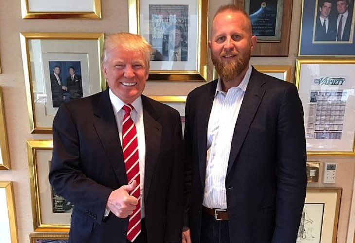 Brad Parscale (right) was a close associate of Donald Trump and headed his 2020 campaign. (Photo: Facebook)