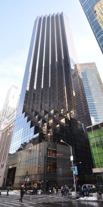 Trump Tower in New York City. (Photo: Jorge Láscar)