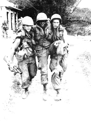 In 1968, the bloodiest year of the Vietnam War, Donald Trump got a draft deferment for 'bone spurs.' (Photo: Library of Congress)