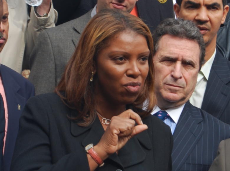 New York Attorney General Letitia James has call for a criminal investigation of the President and family members. (Photo: