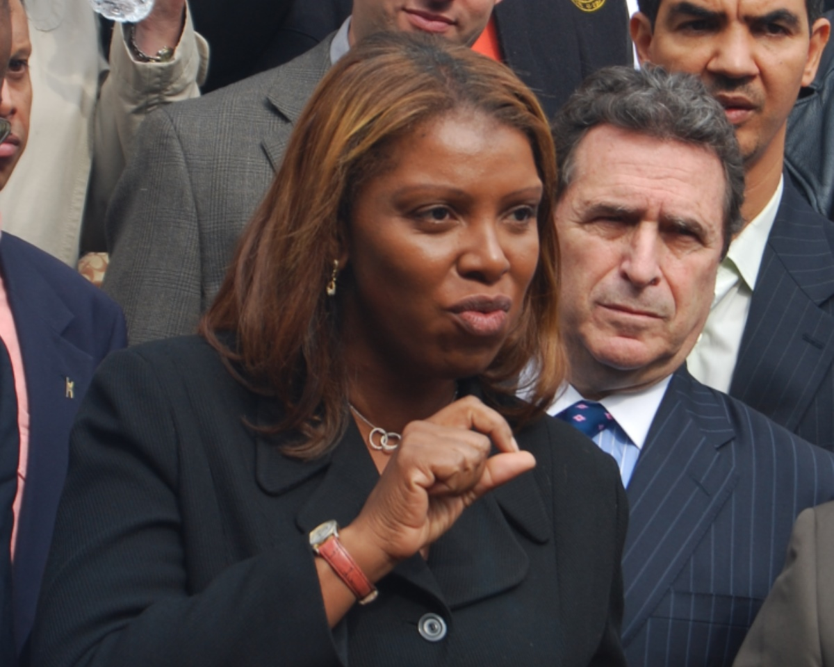 New York Attorney General Letitia James charged that President Trump is engaging in sedition. (Photo: Thomas Good / NLN)