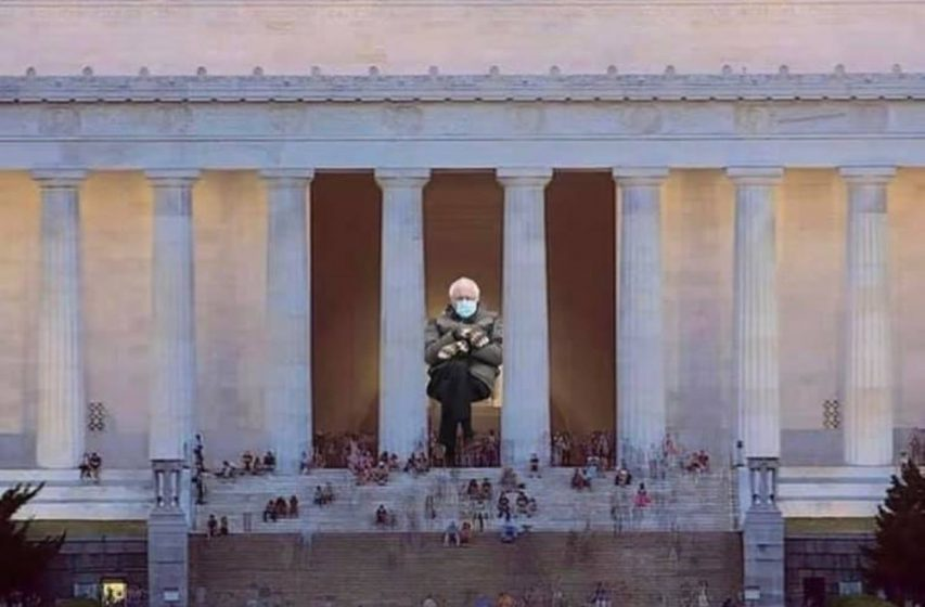 Bernie Sanders Inaugural Pose Explodes as Meme on Social Media (See 12 of the Best!)