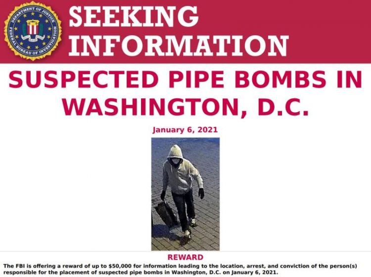 FBI Launches Dragnet for More Than 60 Capitol Hill 'Terrorists' (See Photos) 4