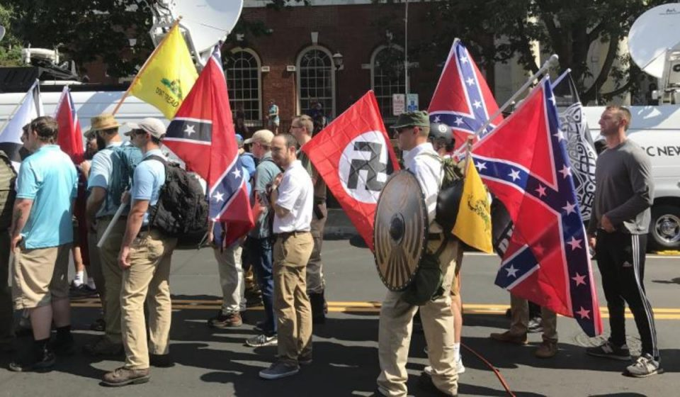 The 2017 Charlottesville riot brought right-wing terrorism into focus. (Photo: