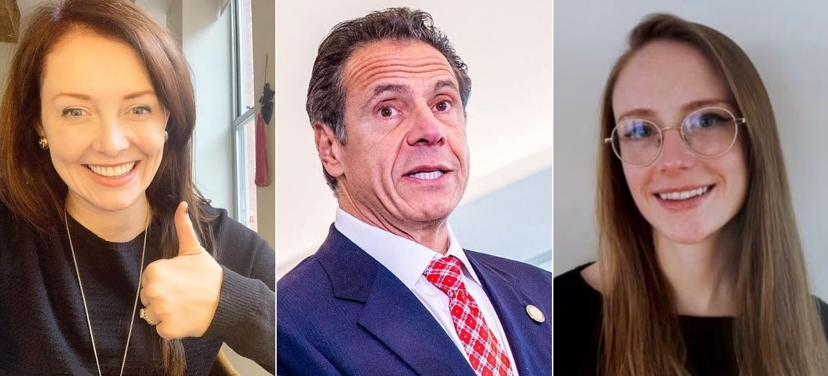 Lindsay Boylan (left) and Charlott Bennett (right) have alleged sexual harassment involving Gov. Cuomo. (Photo: NYI Collage)