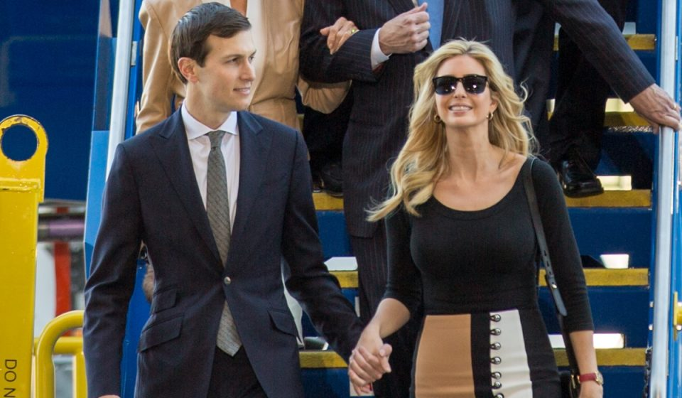 Ivanka Trump with husband Jared Kushner has put her political ambitions on hold. (Photo: Ryan Johnson)