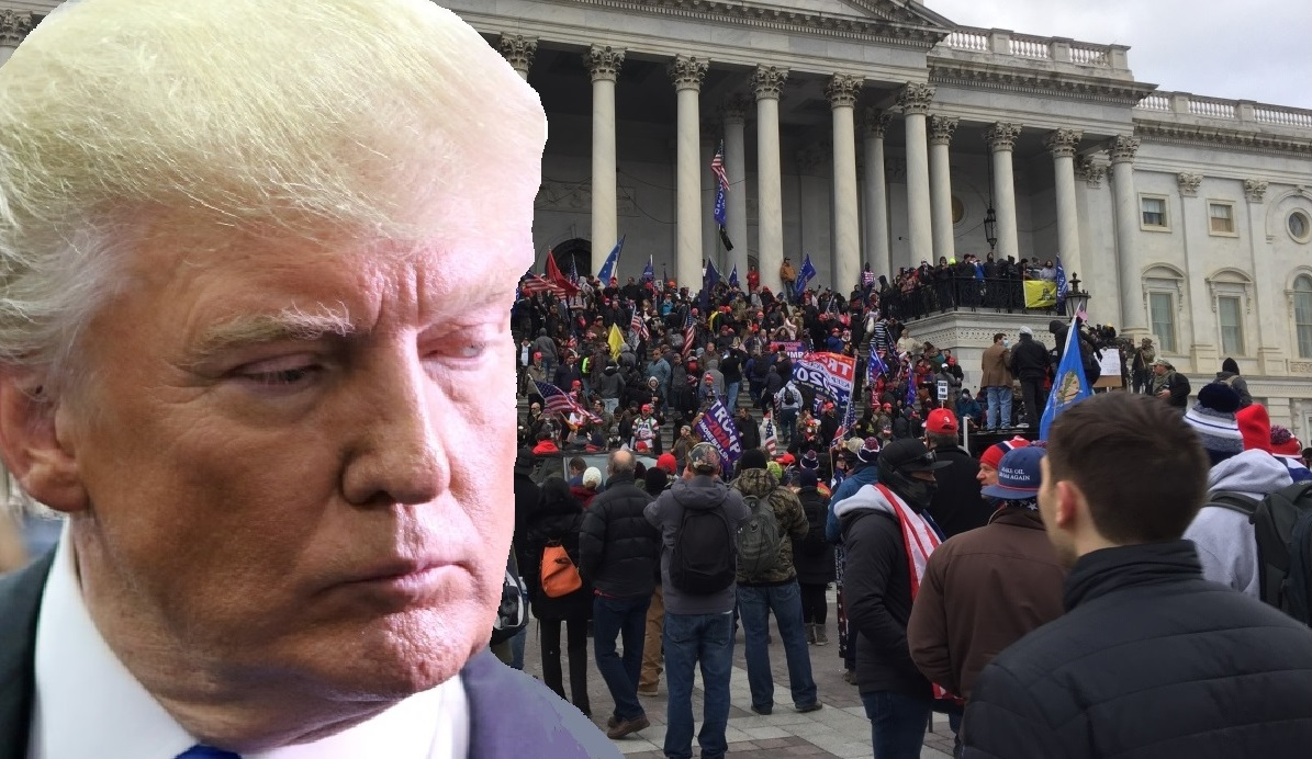 Donald Trump faces impeachment over Jan. 6 Capitol insurrection. (Photo: NYI Collage)