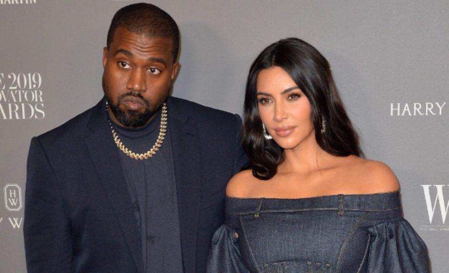 Kim Kardashian is splitting from husband Kanye West (Photo: Bang ShowBiz)