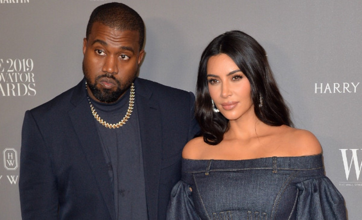 Kim Kardashian is splitting from husband Kanye West (Photo: Bang ShowBiz)