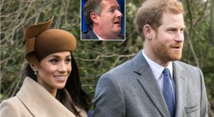 Piers Morgan is a Royal Pain in the A**; Time to Get Off Harry's, Megan's Back