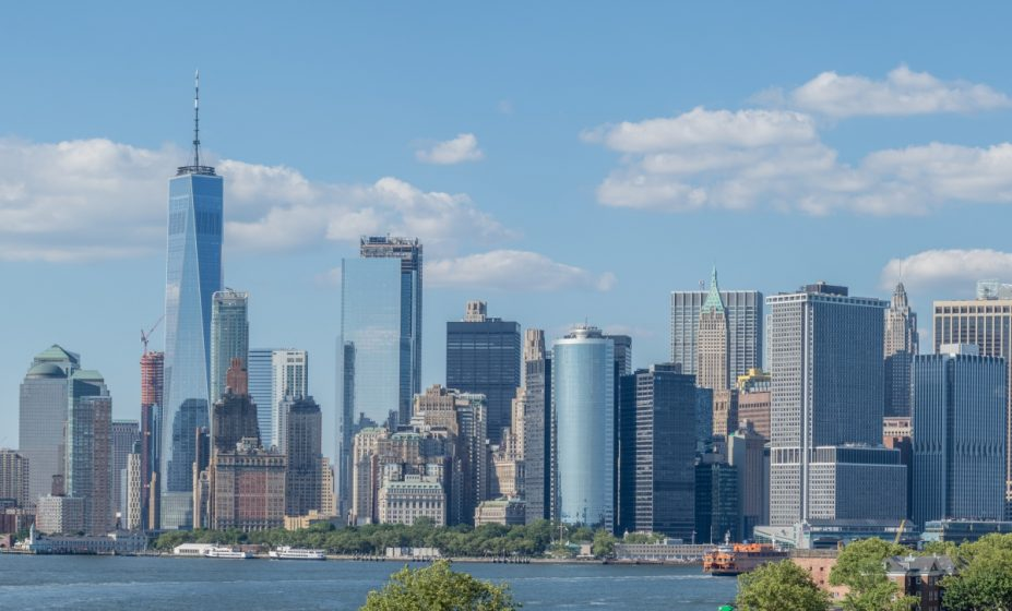 Lower Manhattan's Financial District in New York City. (Photo: )