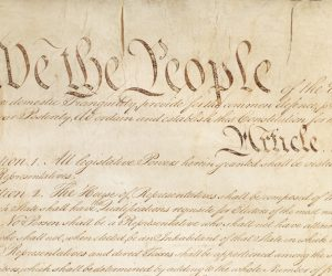 Words on Paper Are All That Protect Our Democracy; It's Time to Take a Stand