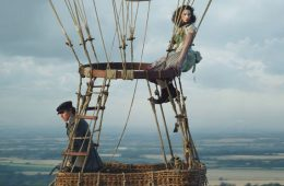 Eddie Redmayne and Felicity Jones up, up and away in The Aeronauts first look trailer. (Photo: Amazon Studios)