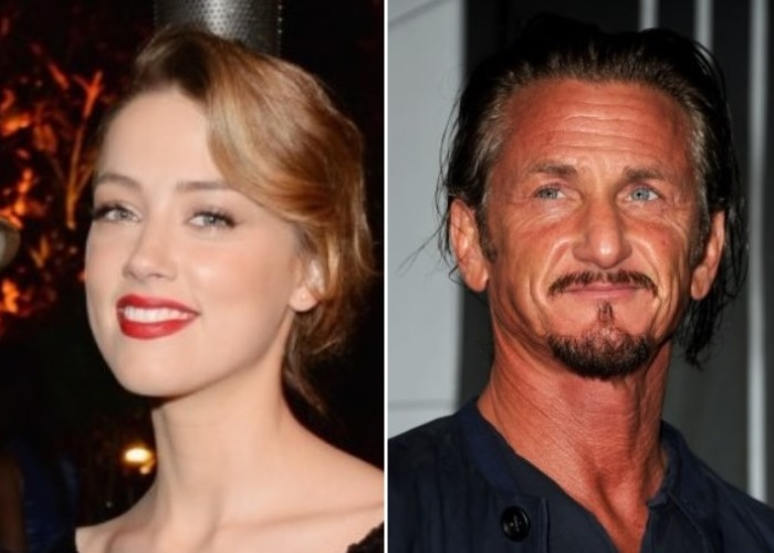 Amber Heard Spotted With Sean Penn: Out of Frying Pan, Into the Fire? 2