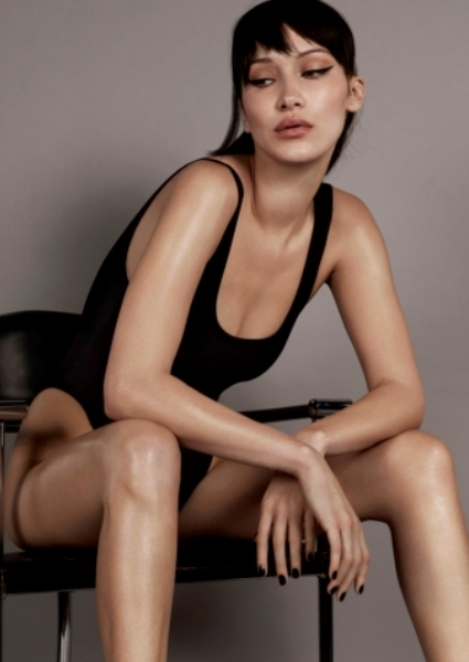 Bella Hadid Doesn't Let Clothes Get in Way of New Shoe Campaign (See!) 2