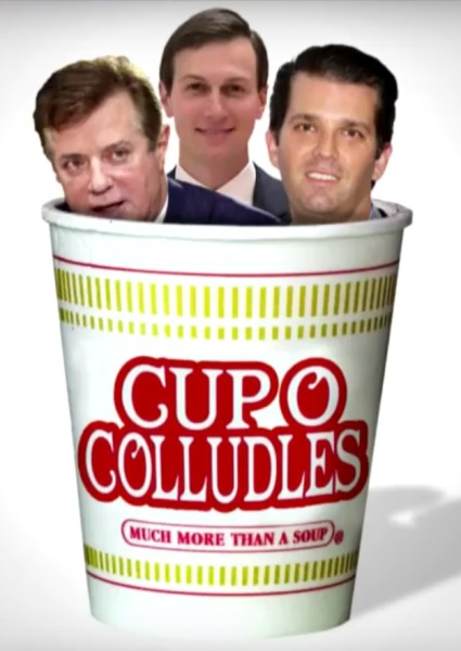 Stephen Colbert Stews Donald Jr. in Cup of 'Colludles Soup' (See!) 12
