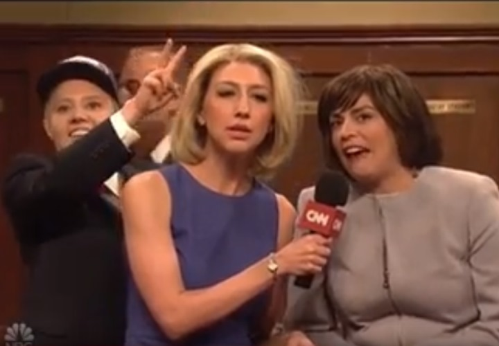 Susan Collins Parties With Big Dogs Over Kavanaugh Score in SNL Cold Open (See!) 2